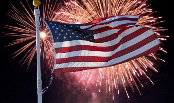 Monroe LA fireworks 2018