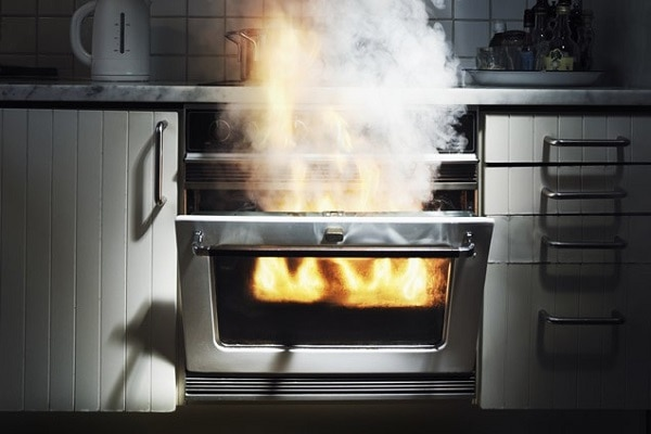 how to use oven self clean