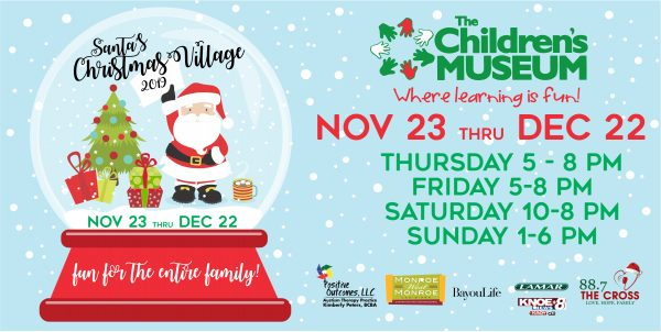 christmas events in monroe