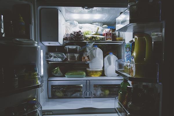 Samsung refrigerator ice tastes bad